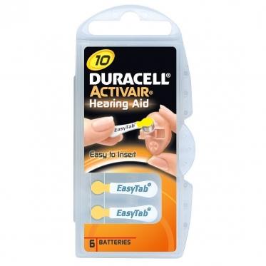 Батарейки Activair Duracell P 10