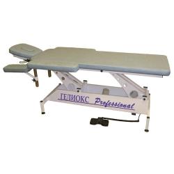 Электрический стационарный массажный стол Гелиокс Профессионал F1E2 - Столы массажные стационарные