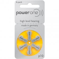 Батарейки Powerone P10 - Батарейки для слуховых аппаратов