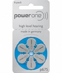 Батарейки Powerone P 675 - Батарейки для слуховых аппаратов