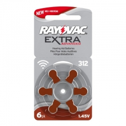 Батарейки Rayovac 312 - Батарейки для слуховых аппаратов