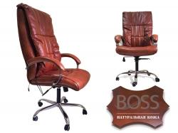 Офисное массажное кресло Ego Boss EG1001 в комплектации Elite