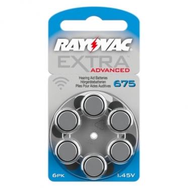 Батарейки Rayovac 675