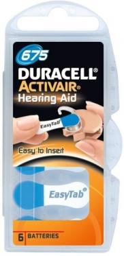 Батарейки Activair Duracell P 675