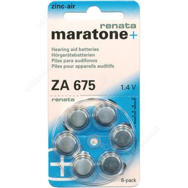 Батарейки Maratone+ Renata 675