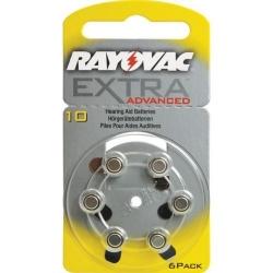 Батарейки Rayovac 10 - Батарейки для слуховых аппаратов