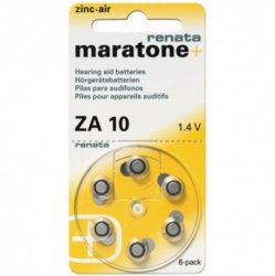 Батарейки Maratone+ Renata 10 - Батарейки для слуховых аппаратов