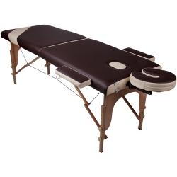 Двухсекционный массажный стол Wellness - Складные массажные столы